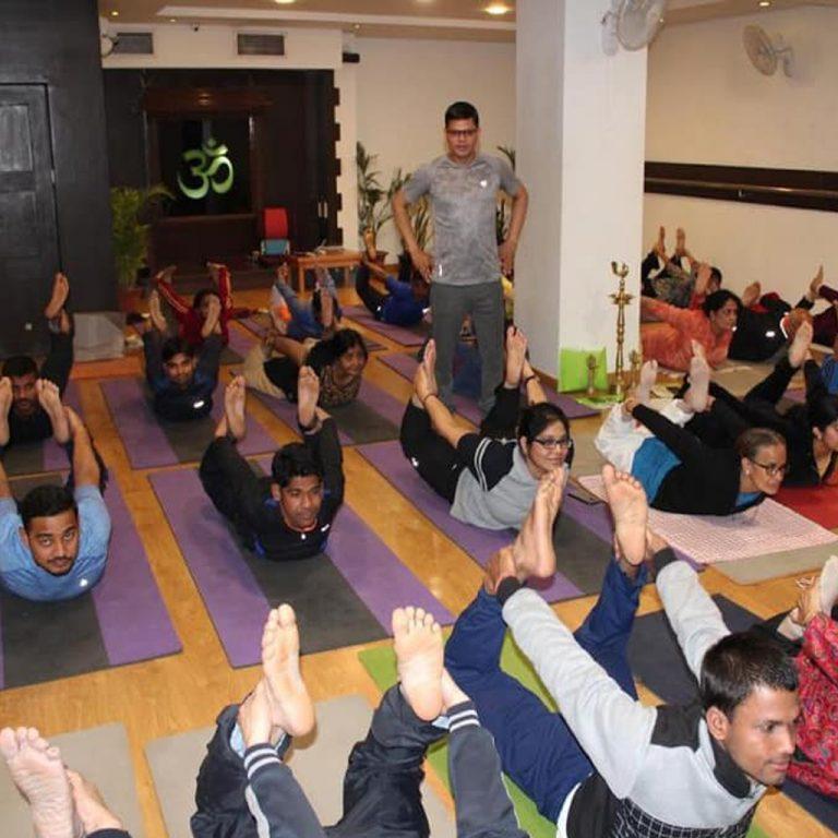 Yoga teacher trainer in Vadodara